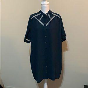 Chemins Blancs European shift dress